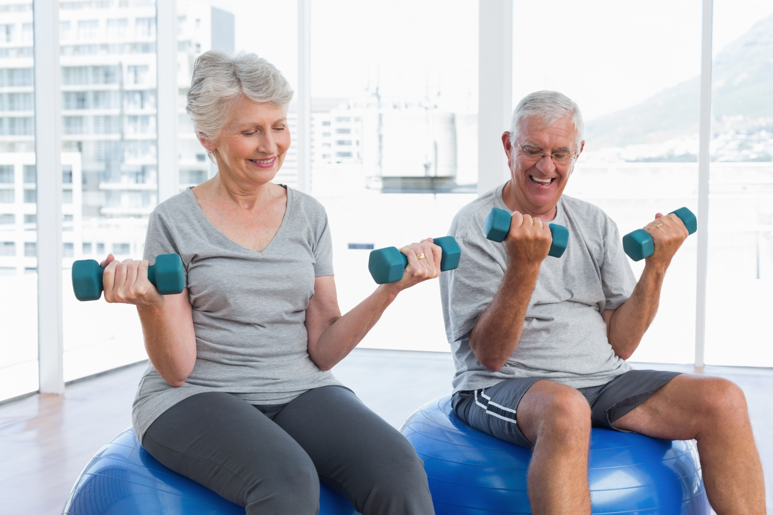 Exercise to Age Safe and Live Well.