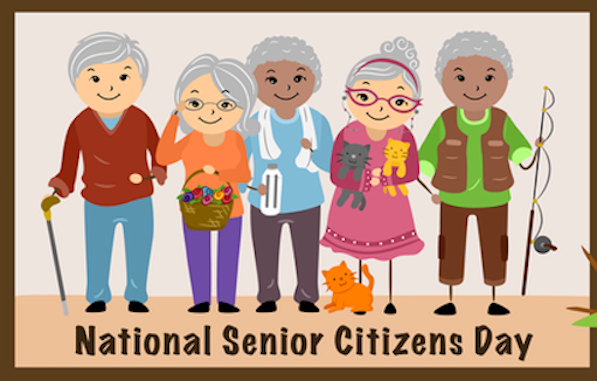 August 21 is National Senior Citizens Day