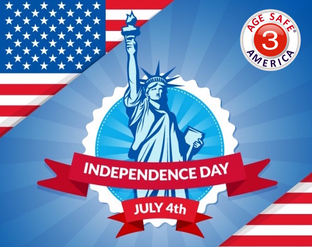 Happy Independence Day 2018 Age Safe America