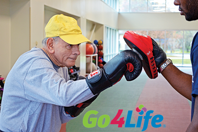 It's Go4Life Month – Get Ready! Get Moving! Go4Life!