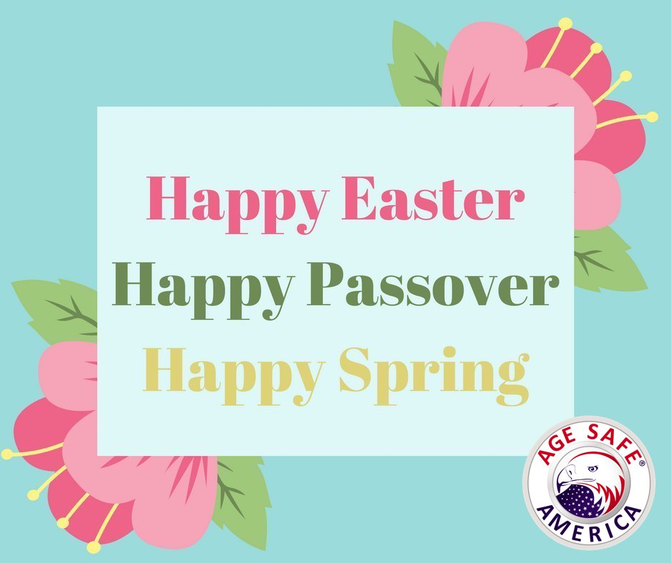 Happy Easter and Happy Passover!