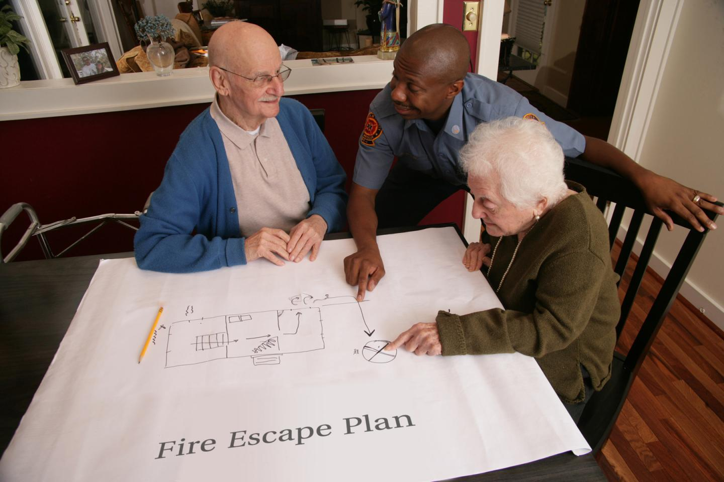 Fire Prevention Week: Elderly More Likely to Die in Home Fires