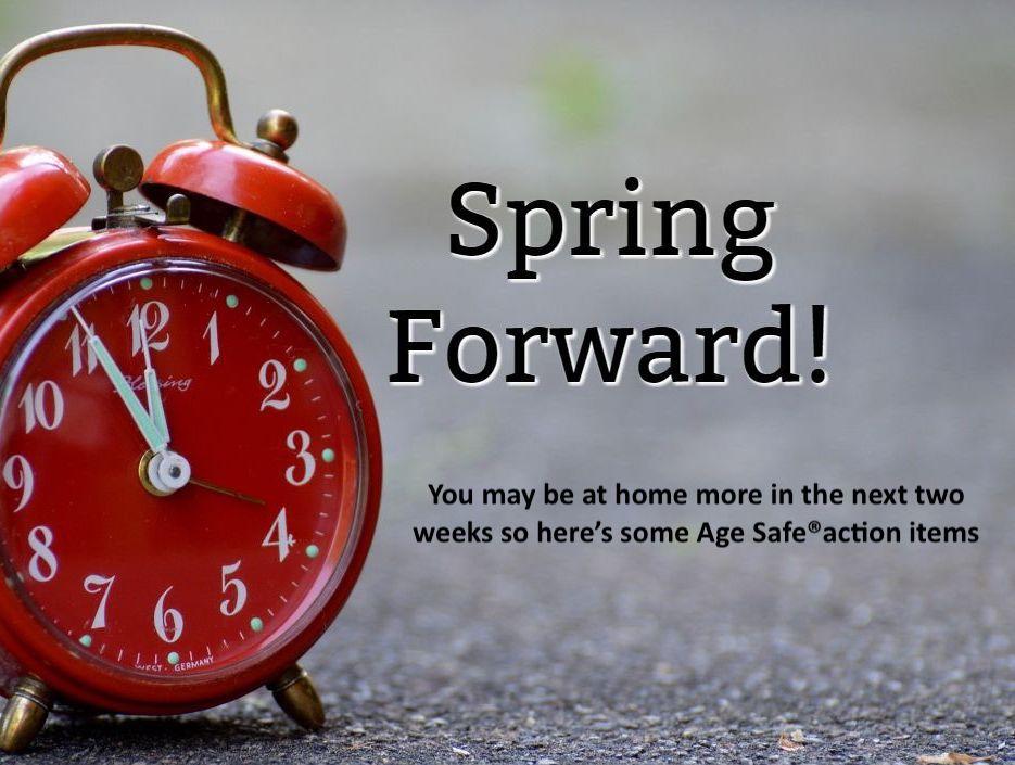 Daylight Savings Time Homebound Chores